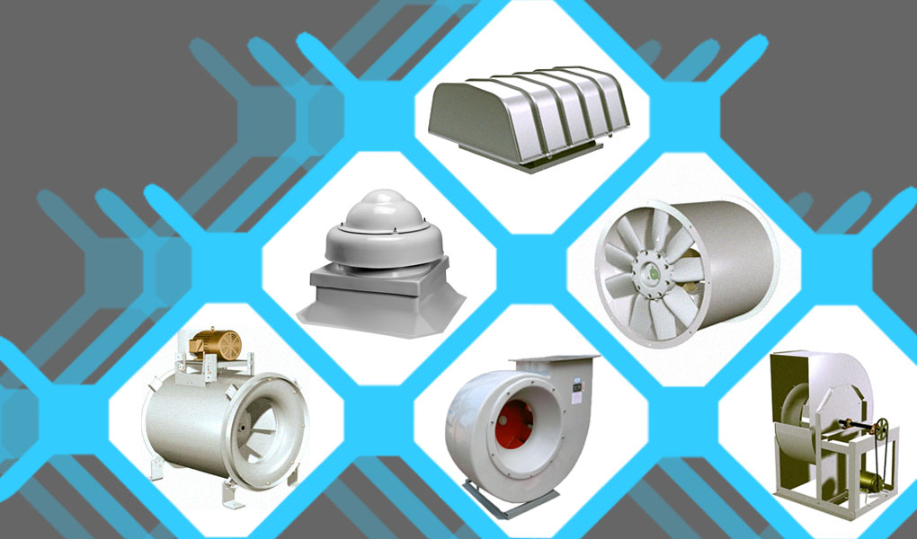 China FRP Fans Blowers