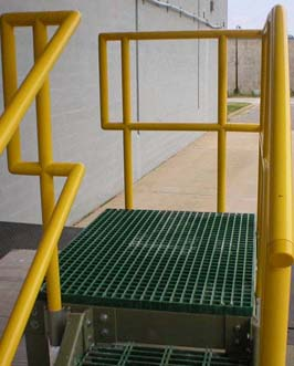 Frp Grating Systems Handrails Amp Railings Systems